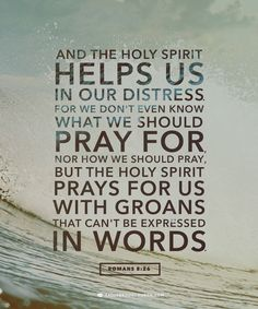 This week, if you have a difficult conversation coming up, ask the Holy Spirit…