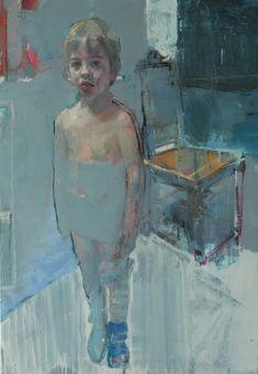 """Saatchi Art Artist: christos tsimaris; Oil 2013 Painting """"odd socks"""""""