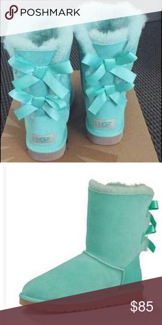 🌺 These are adorable green bowed uggs! They are NWT (with box) I have a variety of sizes so please ask before purchase! 🌺 UGG Shoes Lace Up Boots Ugg Boots With Bows, Bow Boots, Lace Up Boots, Ugg Shoes, Fashion Design, Fashion Tips, Fashion Trends, Box, Womens Fashion