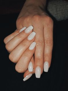 Pin on makeup / hair / nails - Nageldesign - Nail Art - Nagellack - Nail Polish - Nailart - Nails Perfect Nails, Gorgeous Nails, Pretty Nails, Summer Acrylic Nails, Best Acrylic Nails, Aycrlic Nails, Hair And Nails, Milky Nails, Uñas Fashion