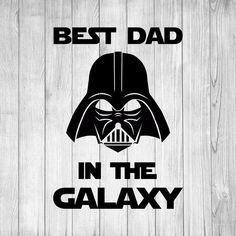 Best Dad in the Galaxy svg, Darth Vader svg, Star Wars, Fathers Day, F – MamyLab Darth Vader Stencil, Darth Vader Artwork, Darth Vader Comic, Darth Vader Father, Darth Vader Costumes, Fathers Day Art, Fathers Day Crafts, Happy Dad Day, Happy Fathers Day
