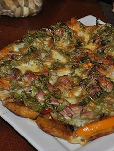 Plantains Pizza