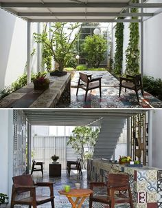 The Nest: Modern, Low Cost Home with Mesh Facade | Designs & Ideas on Dornob
