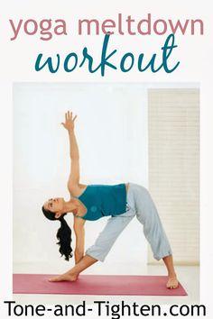 Yoga Meltdown Workout (Jillian Michaels)
