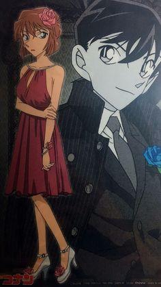 Shiho and Shinichi Syafiqah Manga Detective Conan, Detective Conan Shinichi, Detektif Conan, Amuro Tooru, Kudo Shinichi, Magic Kaito, Case Closed, Sherlock Holmes, Cute Couples