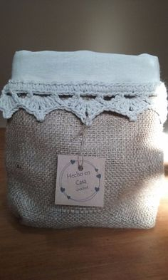organizadores-paneras :: Hecho-en-casa-crochet Modern Crochet, Decoupage, Weaving, Reusable Tote Bags, Basket, Organization, Knitting, Diy, Crafts