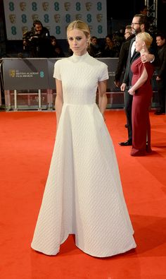 BAFTAs 2015 red carpet | Laura Bailey