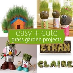 Easy + Cute Grass Garden Projects    http://spoonful.com/crafts/easy-grass-garden-projects?cmp=SMC|spoon|soc|FB|Main|InHouse|040813|Photo||famE|Social||_campaign=spooneditors_source=facebook.com_medium=referral