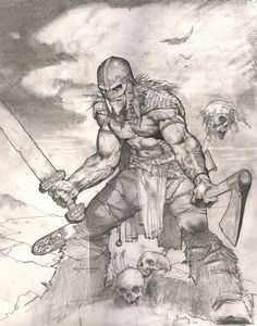 Una the Blade : Simon Bisley