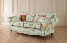 Floral and Spring Blossoms Printed Sofa