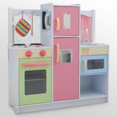 KidKraft Cook & Create Play Kitchen - Want it so bad for my girls!