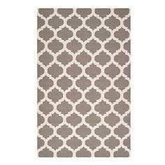 Casablanca Dhurrie Rug - Fog | Area-rugs | Panels-and-rugs | Decor | Z Gallerie $500
