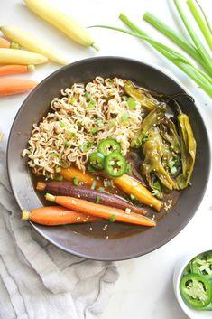 Roasted Vegetable Vegan Ramen