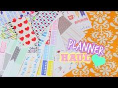 Planner Haul: Erin Condren Unboxing & Etsy Sticker Haul!