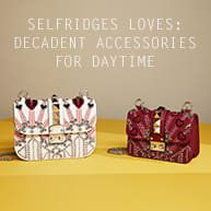 No longer confined to dinner parties and dance floors; spangly bags, ornate shoes and statement jewelry are gaining new round-the-clock appeal. After all, isn't there something just a little bit brilliant about wearing a ridiculously decadent accessory with a dressed-down ensemble? With designers showing oodles of standout accessories for SS17, here's how to bring on the bling – in the best possible way.