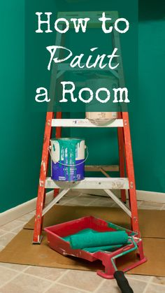 How to Paint a Room - Basic instructions and tips for painting DIY.