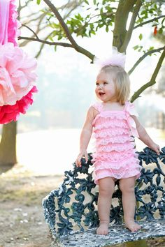 Lace Petti Romper More Colors by MissKhloesKloset on Etsy, $13.99