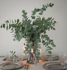 How To Build Your Own Eucalyptus Centrepiece - The Social Kitchen