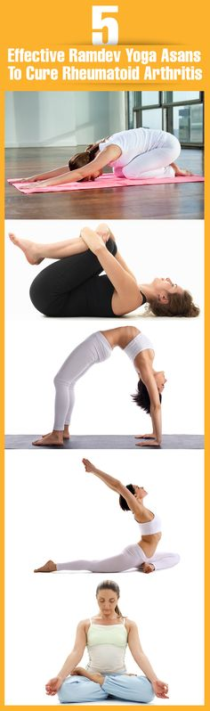 5 Effective Ramdev Yoga Asans To Cure Rheumatoid Arthritis:- There was a time when Rheumatoid Arthritis (RA) was considered as a disease of the 'old people'. #yoga | #yogaposes
