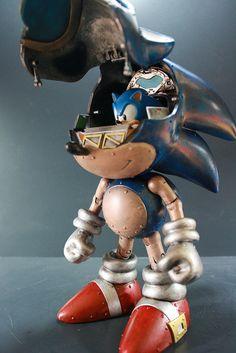 Kodykoala's Custom Sonic the Hedgehog Mech #gaming #mech #sonic