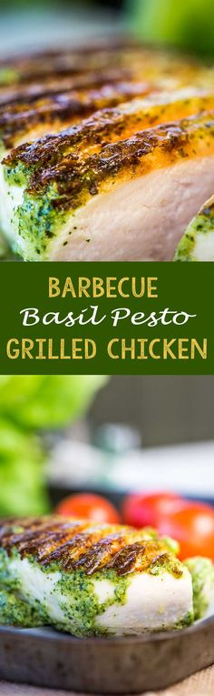 The perfect easy thing to make on a summer night on the grill! Basil Pesto…