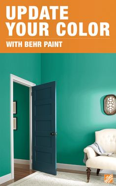Sometimes a new color is all you need to refresh the look of a room. The Home Depot's Color Center has thousands of unique shades, like BEHR Water Park, Fashionista, Fire Coral and Mocha Latte. Browse by room and find unique color palettes and styles that were curated by paint experts.