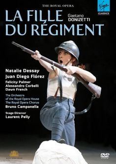 Metropolitan Opera HD Live - La Fille du Regiment. Pleeeeease, can I play this part one day? :)