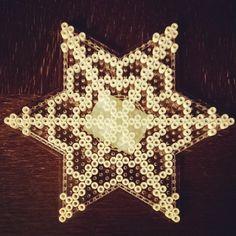 Snowflake perler beads by lillekvist
