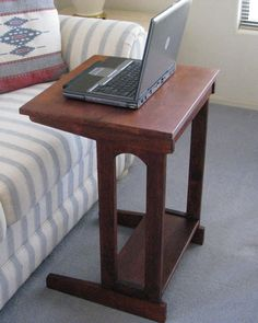 laptop table and side table