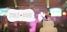O Casamento de Emylle e Rafael - Véu da Noiva - Blog de Casamentos