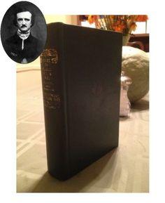 Works Of Edgar Allan Poe Illustrated Fritz Eichenberg Halloween Horror Vintage