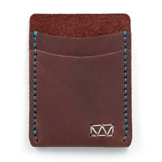 Slim Leather Front Pocket Wallet Featured in Esquire by Waskerd