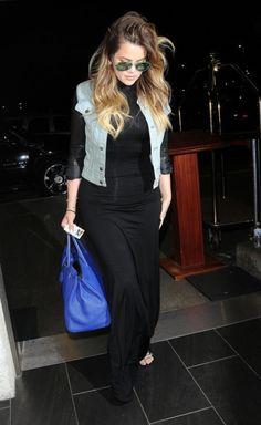 July 28, 2014 - Khloe Kardashian at LAX Airport.