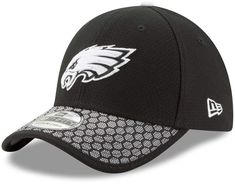 75de680c138 Adult New Era Philadelphia Eagles 39THIRTY Sideline Flex-Fit Cap
