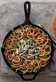 Green Bean Casserole Recipe   Alex Guarnaschelli (Green beans? Check. Creamy mushroomy sauce? Check. Can opener? Uh…no thank you. Not this Thanksgiving.)
