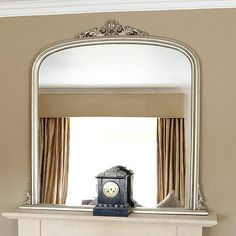overmantle mirror by decorative mirrors online | notonthehighstreet.com