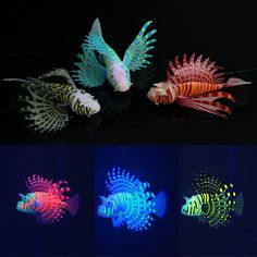 Yani Aquarium Ornament Glowing Effect Silicone Artificial Decoration for Fish Tank - Banggood Mobile