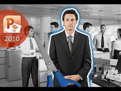 Cómo recortar una imagen en PowerPoint 2010. Cómo eliminar el fondo de una imagen en PowerPoint 2010 - YouTube