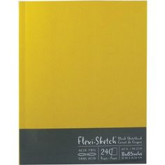 Amazon.com: Global Art 11-Inch by 8-1/2-Inch Flexi Sketch Soft Cover Blank Sketchbook, Butternut, 120 Sheets: Arts, Crafts & Sewing