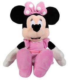 Simba 6315872637 - Disney Mickey Mouse Club House Basic, Minnie, 25 cm