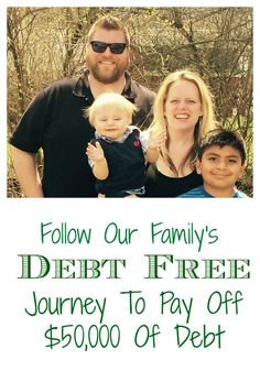 Check out our October 2015 update! Read about our journey to get rid of $50,000 in debt, and how we did it in less than two years.