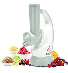 Magic Bullet Dessert Bullet Blender Magic Bullet http://www.amazon.com/dp/B00GCT7URO/ref=cm_sw_r_pi_dp_EO0-tb032Y7XT This turns frozen fruit (and other goodies) into healthy soft-serve sweets in SECONDS
