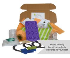 The Happy Trunk : - hands-on project based kids boxes. I'll keep these in mind for my friends who have kids...