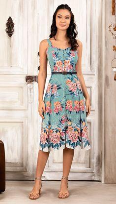 Casual Dresses, Fashion Dresses, Summer Dresses, Floral Fashion, Fashion Design, Lace Dress Styles, Chic Dress, Elegant Outfit, Cotton Dresses