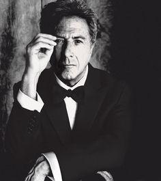 Dustin Hoffman  Photo by Tom Munro  L'Uomo Vogue, settembre 2007