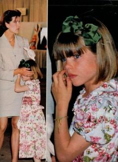 Charlotte Casiraghi and Princess Caroline of Monaco, 1992 by Thecia, via Flickr