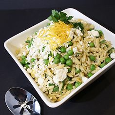 Orzo Salad, a recipe from the ATCO Blue Flame Kitchen.