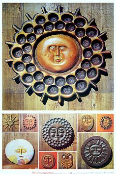 Nut Tree Poster, Vacaville, California, 1977. Reflects 1970's sunshine design trend and back to nature mood.