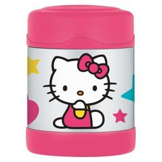 Thermos Hello Kitty FUNtainer Food Jar (10oz) - would like one or two of these for lunch at school - Rank #3