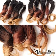 Vpfashion Customized Hair Extensions in 2014 Trendy Hair Colors Beautiful amazing and gorgeous ombre wavy extensions